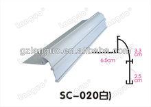 supermarket Shelf Strips/new style plastic shelf talker