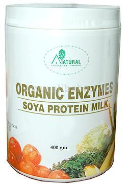 Lait organique de protéine du soja d'enzymes