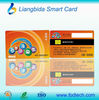 Mifare 1k smart chip card with pvc gift card