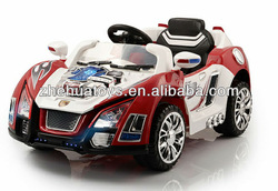 Cool model 6V kids electric car/ RC Rid on car with 2 motors
