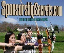 Archery Sponsorships