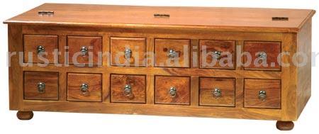 12drwr Dowry Box
