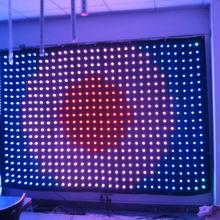 high efficiency led RGB dot pixel light strip wall light