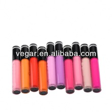 Various color lipgloss hot sell lip makeup organic lipstick