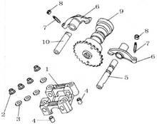 50cc Engine Parts