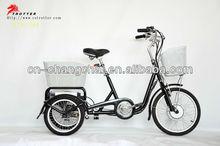 three wheel electric bike