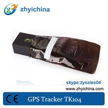 high-tech gps tracking unit TK104 gps vehicle track avl with google maps