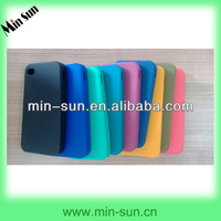 Blank Soft Silicone Cellphone Cover Cases Custom Any Pantone Color and Logo