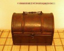 Essential Oil Wooden Box