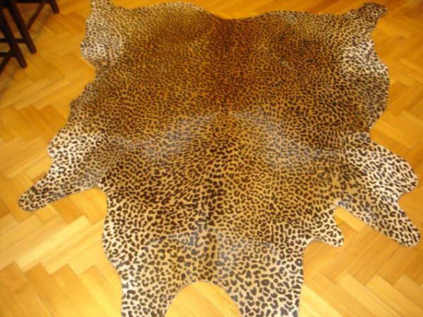 stampe animalier tappeti pelle di mucca