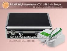 Protable professional 5MP skin Iris analysis / skin test / Skin Scope Skin camera equipment NT-900U(s)