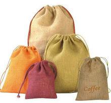 jute drawstring pouches