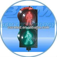 Running man led light for traffic