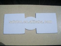 Stock Blank white Neoprene Cooler for sublimation