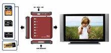 Multi Media Player For Digital Picture Frame