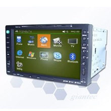 Vpc 5500 2-Din Car PC With 7inch Touch-Screen LCD And Windows System