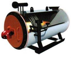 Horizontal oil (gas) fired heat carrier boiler