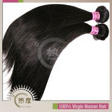 Unprocessed 100% human hair complete cuticle peruvian virgin hair straight