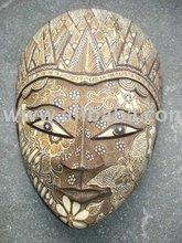 Wooden Panji Batik Mask