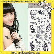 body temporary henna sticker tattoo