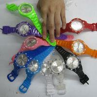 2013 Hot sales cheap plastic interchangeable watch
