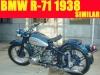 Changjiang 750 (Cj750) Motorcycle, 1938 BMW R71 Reproduction