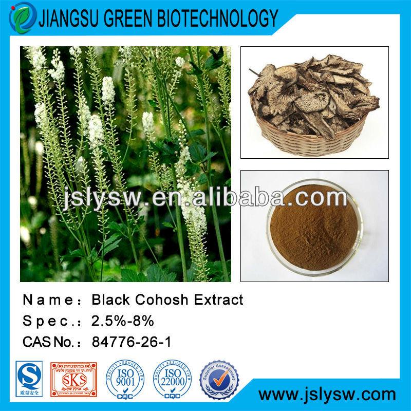 Natural Black Cohosh Extract/Triterpene/Black Cohosh P.E.