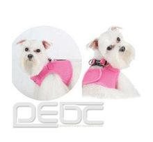 Brand New Soft Adjustable Pink Pet Puppy Dog Mesh Comfortable Vest Harness XS