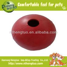 smooth dog toys rubber ball