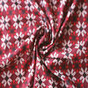 50D false twist printed chiffon flowers dresses fabric