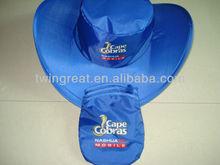 new foldable cowboy hat