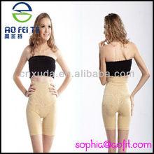 AFT-5980 Newest Fashion Ladies Body Shaper Shape Wear Slimming Pants Slim Tummy Bum Thigh High Waist Knickers Underwear