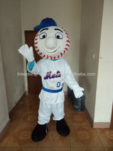 CE certificate mr met costume/ met mascot for adults