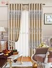 Beautiful bronzing design window curtain
