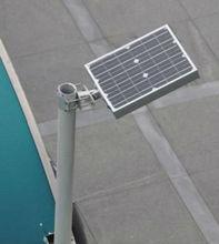 integrated automatic solar street light control / motion sensor led solar street light