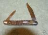 Case Xx 06244 Green Bone Pen Knife