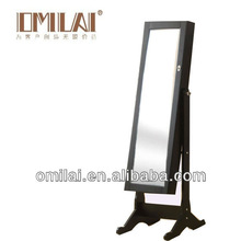 Chinese furniture Professional factory antique cheval mirror jewelry armoire jcpenney
