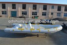 7.3m fiberglass fishing boat yamaha engine with CE