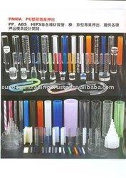 Acrylic Pipe, Plastic Tube, PVC Pipe