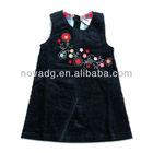 H2019 girls dress designers/children frocks designs/girls black dress
