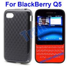 3D Anti-skid Double Color Q5 TPU Case for Blackberry