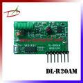 Microsoft MCU PIC16F630 rf decodificador de controle remoto