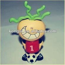 Football boy usb flash drive 2gb silicone power special&new design silicone usb flash drive