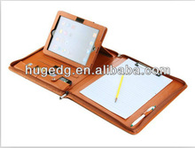PU leather zip laptop case Ipad cover