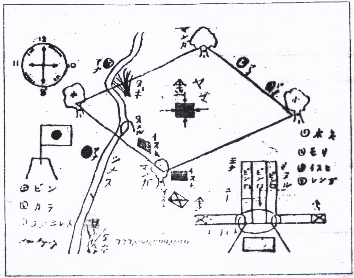 Yamashita Treasure Map / Sketch
