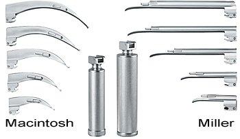 Laringoscopio cuchillas