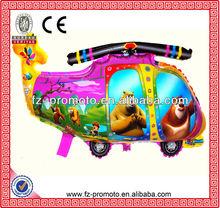 Cartoon aeroplanes polyamides aeroplane balloons aeroplane balloon for children