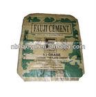 HY-P253 high quality kraft paper valve bag/cement bag/pp block bottom 50kg pp valve bag for packing sugar