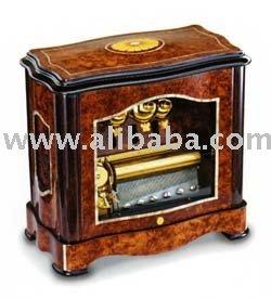 Di Music Box del cilindro di Reuge, Belhi, scatola in bava Vavona