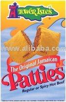 Mild Beef Pre-Frozen Baked Jamaican Meat Patties-Bulk